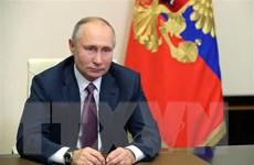 Tổng thống Nga gửi lời chúc các nhà lãnh đạo nước ngoài dịp Năm mới