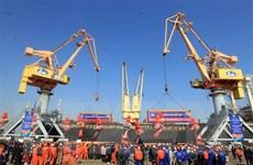 Cảng Hải Phòng đón mã hàng đầu tiên trong Năm mới 2021