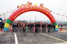 Yên Bái: Khánh thành cây cầu đầu tiên nối hai bên bờ sông Hồng