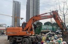 Thanh tra toàn diện công ty để rác thải tồn đọng tại cửa ngõ Thủ đô