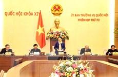 Khai mạc Phiên họp thứ 52 của Ủy ban Thường vụ Quốc hội