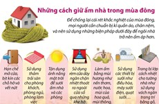 [Infographics] 7 cách giữ ấm nhà trong mùa Đông giá lạnh