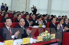 Hình ảnh Thủ tướng dự Hội nghị của Bộ Thông tin và Truyền thông