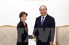 Thủ tướng Nguyễn Xuân Phúc tiếp Đại sứ Singapore chào từ biệt