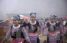 [Photo] Du khách đổ về Mai Châu tham dự Lễ hội Gầu Tào năm 2021