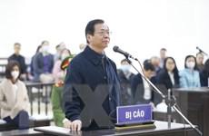 [Photo] Mở lại phiên tòa xét xử bị cáo Vũ Huy Hoàng cùng đồng phạm