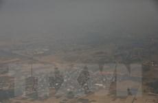 [Photo] Chất lượng không khí ở Hà Nội tiếp tục ở mức xấu