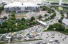 Nguy cơ ùn tắc giao thông khu vực sân bay Tân Sơn Nhất dịp Tết