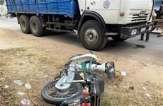 Tây Ninh: Va chạm với xe tải, 2 người trên xe môtô tử vong tại chỗ