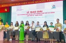 TTXVN giành ba giải thưởng Giải Báo chí Du lịch TP.HCM năm 2020