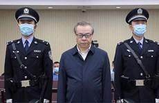 Trung Quốc kết án tử hình quan tham nhận hối lộ 260 triệu USD