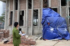 Khởi tố bị can trong vụ rơi vận thăng khiến 3 người chết ở Nghệ An