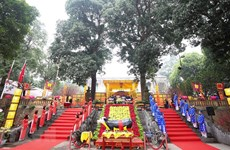 Hà Nội: Phục dựng nghi lễ cung đình tại Hoàng thành Thăng Long
