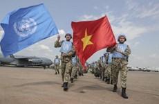 Đại diện các nước G4 chúc Tết lực lượng gìn giữ hòa bình Việt Nam