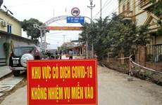 Quảng Ninh dừng giãn cách xã hội 2 ổ dịch Đông Triều và Vân Đồn