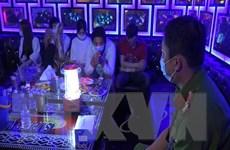 Bắt quả tang 26 đối tượng sử dụng ma túy trong quán karaoke