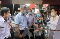 Thứ trưởng Bộ Y tế kiểm tra công tác phòng chống dịch tại TP.HCM