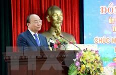 Thủ tướng Nguyễn Xuân Phúc thăm, chúc Tết các đơn vị tại Đà Nẵng