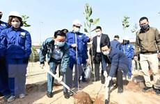 [Photo] Hà Nội phát động Tết trồng cây Xuân Tân Sửu 2021
