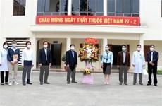 Tri ân những chiến sỹ áo trắng chống dịch COVID-19 tại Hải Dương