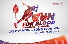 Cùng chạy bộ và hiến máu ở Hà Nội, Đà Nẵng, Thành phố Hồ Chí Minh
