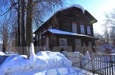 [Photo] Vẻ đẹp cổ kính của những ngôi nhà hơn trăm tuổi ở Udmurtia