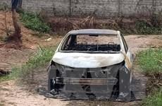 Quảng Ninh: Tạm giữ đối tượng chém người trọng thương, đốt xe ôtô