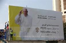 Iran đánh giá tích cực chuyến thăm của Giáo hoàng Francis tới Iraq