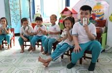 Sau 4 năm, sữa học đường tỉnh Bến Tre nhận được nhiều điểm cộng