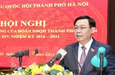 Đoàn đại biểu Quốc hội thành phố Hà Nội nỗ lực đổi mới hoạt động