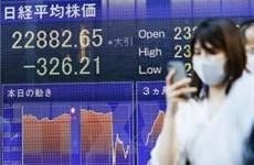 Chứng khoán châu Á phiên 24/3 trượt xuống mức thấp nhất hai tuần