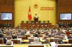 [Photo] Quốc hội nghe trình bày báo cáo công tác nhiệm kỳ 2016-2021