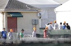 Mỹ đưa trẻ em di cư không có người nhà đi cùng tới hai căn cứ quân sự