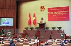 Ngày thứ hai Hội nghị trực tuyến quán triệt Nghị quyết Đại hội XIII