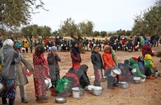 UNICEF lo ngại tính mạng hàng triệu trẻ em tại Tây Bắc Syria