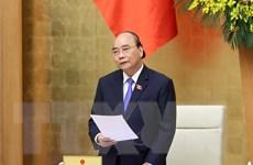 [Photo] Thủ tướng Nguyễn Xuân Phúc chủ trì phiên họp Chính phủ tháng 3