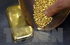 Giá vàng trên thị trường thế giới đi lên trong phiên 1/4