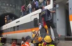 Hiện trường tai nạn đường sắt thảm khốc ở Đài Loan khiến 36 người chết