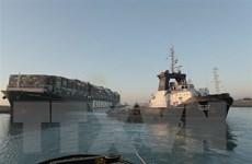 Giải tỏa hết tình trạng ùn tắc sau vụ mắc kẹt tàu trên kênh đào Suez