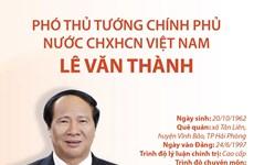 [Infographics] Chân dung Phó Thủ tướng Chính phủ Lê Văn Thành