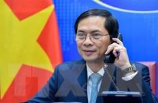 Bộ trưởng Ngoại giao Bùi Thanh Sơn điện đàm với Bộ trưởng Brunei