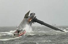 Vụ lật tàu bốc dỡ hàng ở Mỹ: Ít nhất 1 người đã thiệt mạng