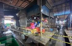 Dịch COVID-19: Campuchia đóng cửa chợ lớn nhất ở Preah Sihanouk