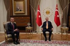 Lãnh đạo Thổ Nhĩ Kỳ và NATO thảo luận nhiều vấn đề khu vực