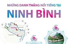 [Infographics] Những điểm đến ở Ninh Bình khiến du khách mê mẩn
