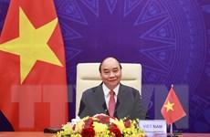 Hình ảnh Chủ tịch nước phát biểu tại Hội nghị Thượng đỉnh về khí hậu