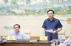 Chủ tịch Quốc hội làm việc với Ủy ban Quốc phòng và An ninh Quốc hội