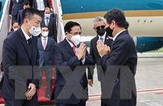 Thủ tướng đến Indonesia dự Hội nghị các Nhà Lãnh đạo ASEAN