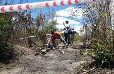 Phát hiện thi thể cháy trơ xương trên đồi đất ở Bình Thuận