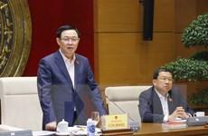 Chủ tịch Quốc hội làm việc với Ủy ban Đối ngoại của Quốc hội